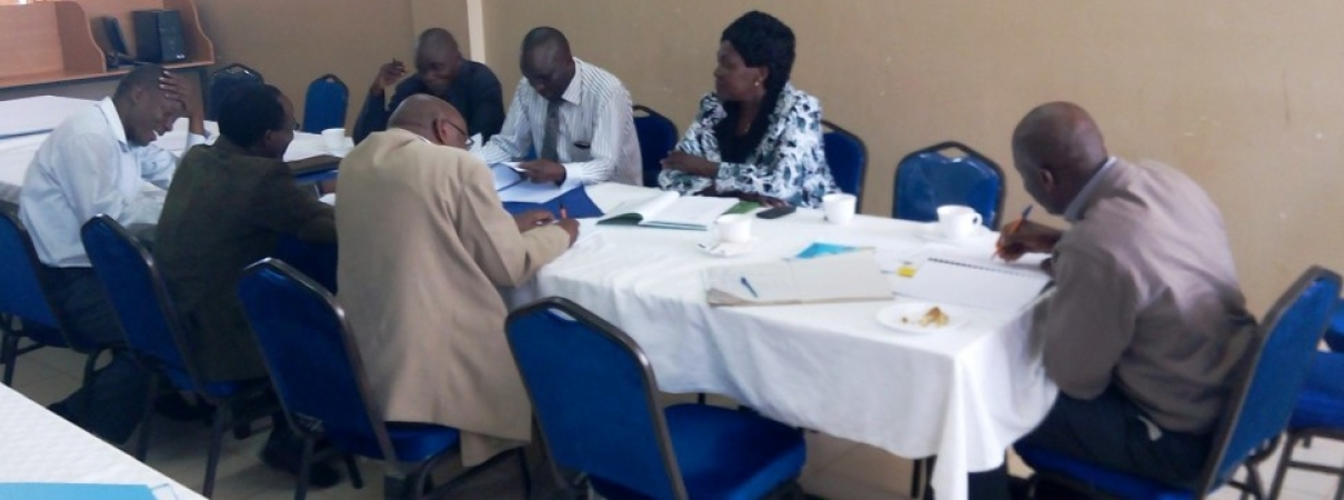 SGS Board Members reviewing proposals